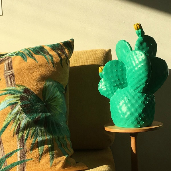 Lampe cactus tendance jungle